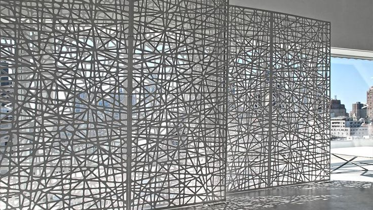 Screens and partitioning with patterns
