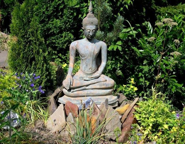 Buddha Garden Statue Beautify The Yard With A Garden Statue