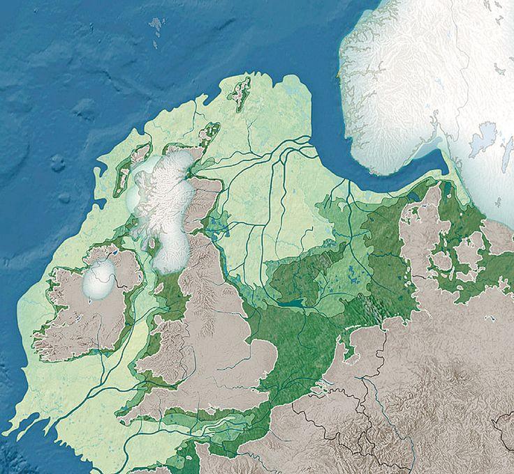 North America Map In 1750%0A Zaten Nederland en Belgi   nog maar kort geleden  in de steentijd  vast aan  Engeland