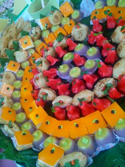 indonesian snack colourfull