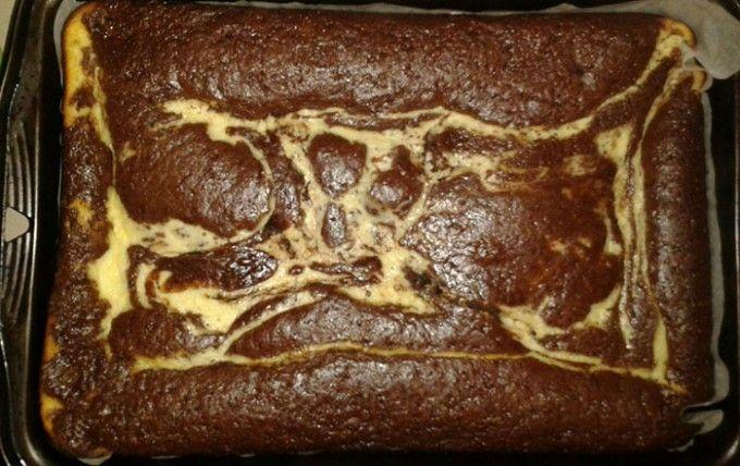 Rychlý koláč s tvarohem | NejRecept.cz