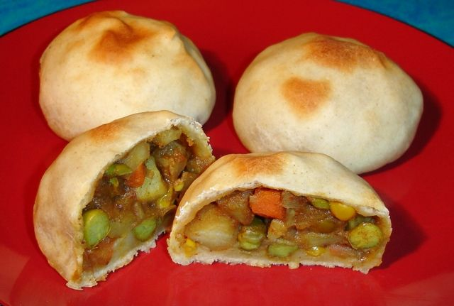 vegetarian recipes | vegetable-buns