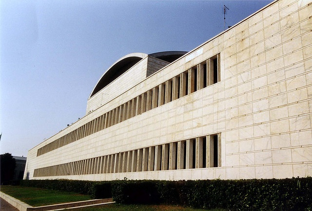 Palazzo dei Congressi, Roma EUR by A. Libera  Superficie pura by whipping_mood, via Flickr