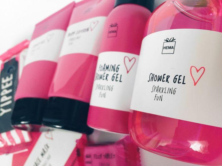 Hema Sparkling fun <3 pink shower