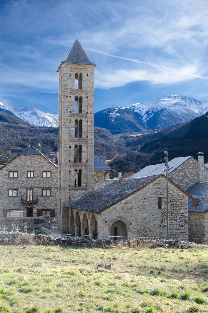 Erill la Vall Alta Ribagorça Lleida Catalonia