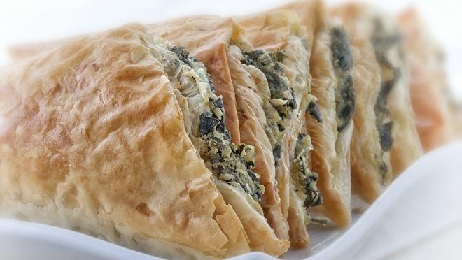 Spanakopita - Greek spinach pies