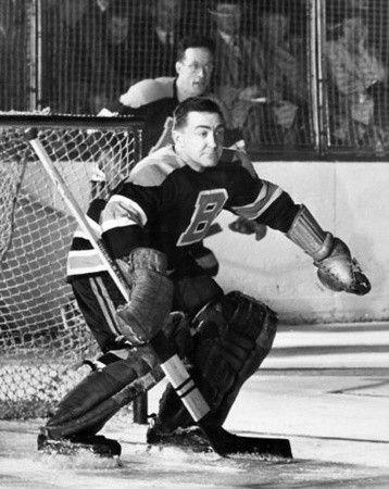 'Sugar' Jim Henry & Hal Laycoe - Bruins - Early 50s