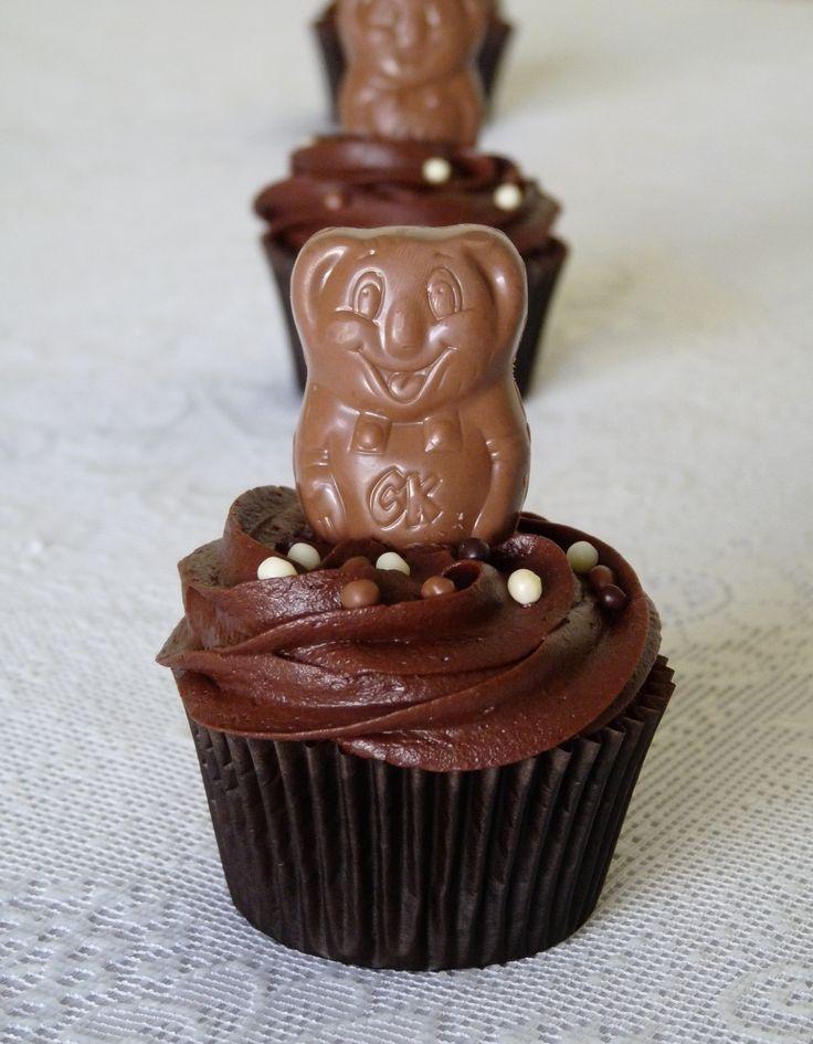 Caramello Koala cupcakes