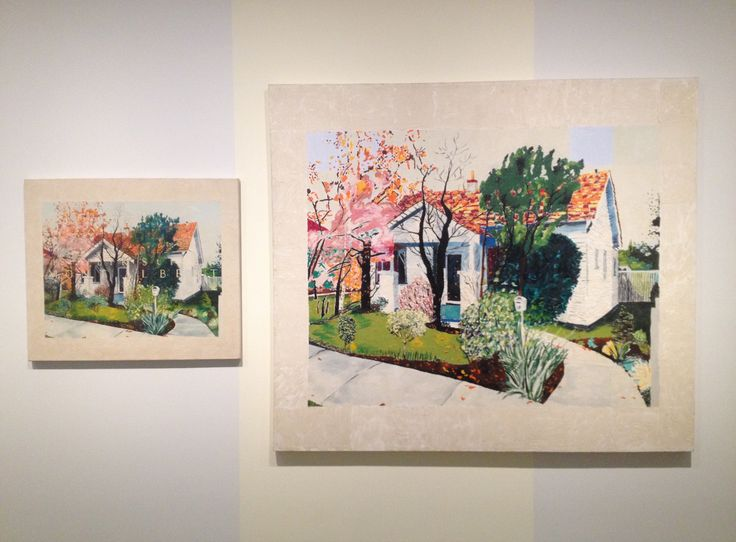 Jenny Watson's 1976 House Painting: Mont Albert at MCA, Sydney