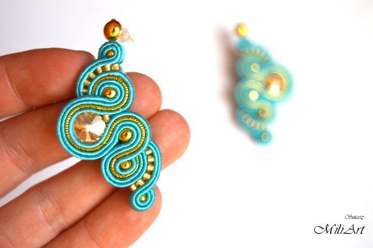 Unique jewellery, soutache, sutasz https://www.facebook.com/SutaszMili