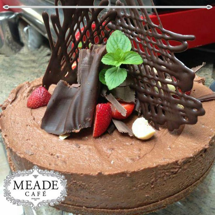 For the best Chocolate Cake in town, head down to Meade Cafe George, anyone joining us? #chocolatecake #bakery #meadecafe