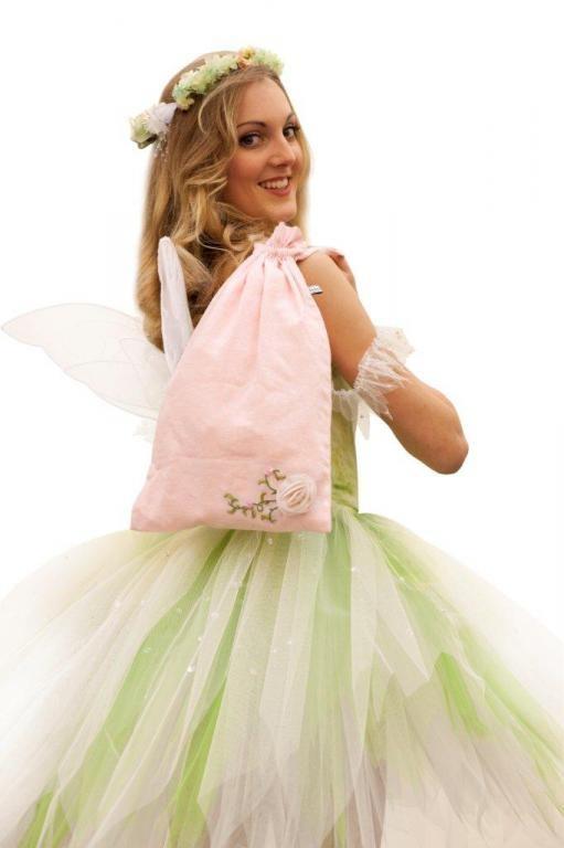 Beautiful Ballet Shoe or Lingerie Bag designed for the Royal New Zealand Ballet