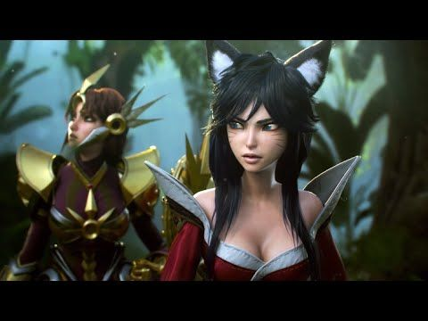 "CGI Animated Cinematics HD: ""League of Legends The New Dawn: - by Blur S..."