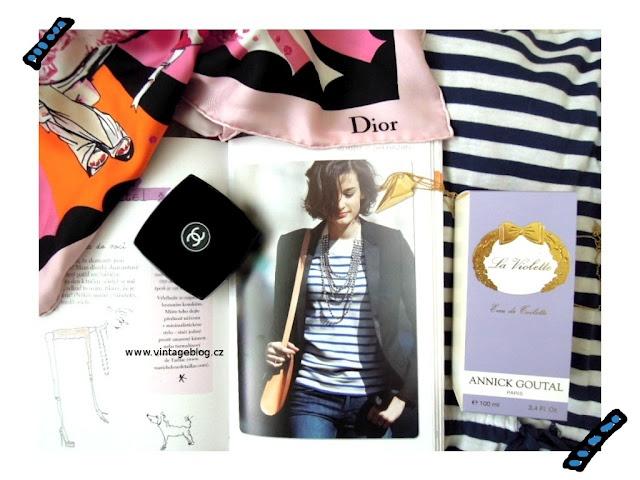Paris, Dior, Chanel, Parisien, Annick Goutal   www.vintageblog.cz