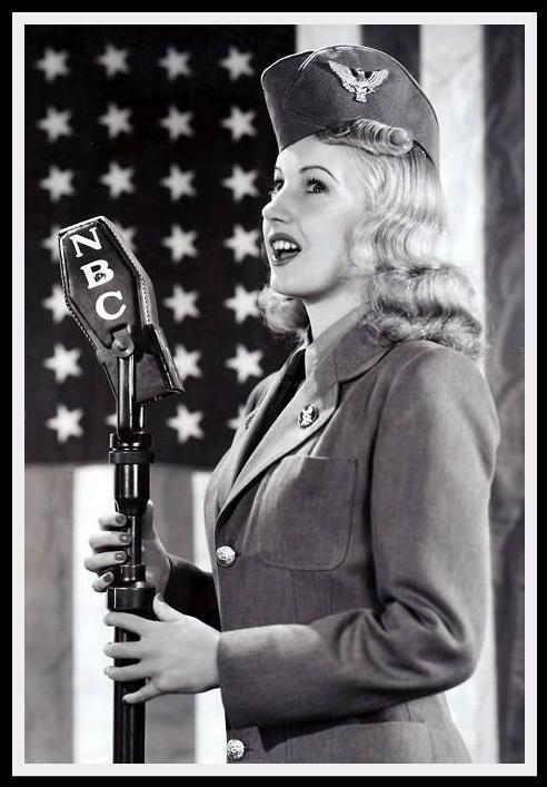 vintage memorial day 1940's | vintage american flag
