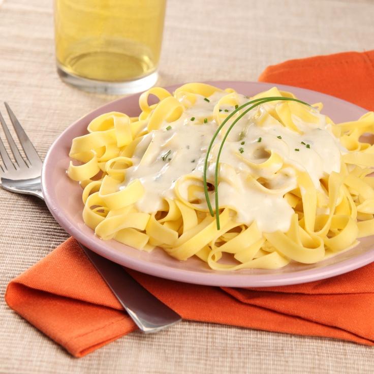 Tagliatelles sauce gorgonzola