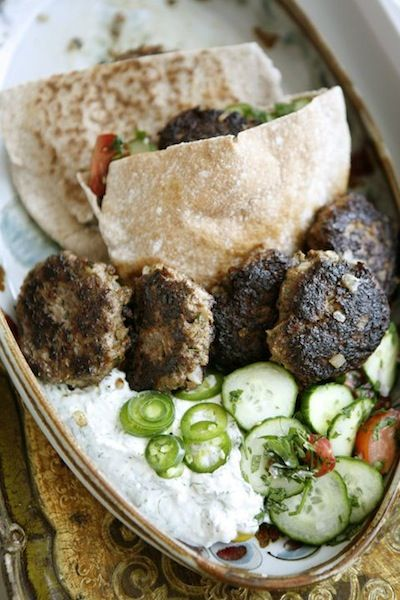 Turkish meat patties | Entertaining with Daphne Oz | Belathée Photography for Camille Styles