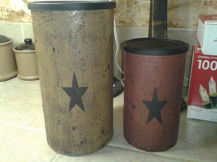 Oatmeal canisters