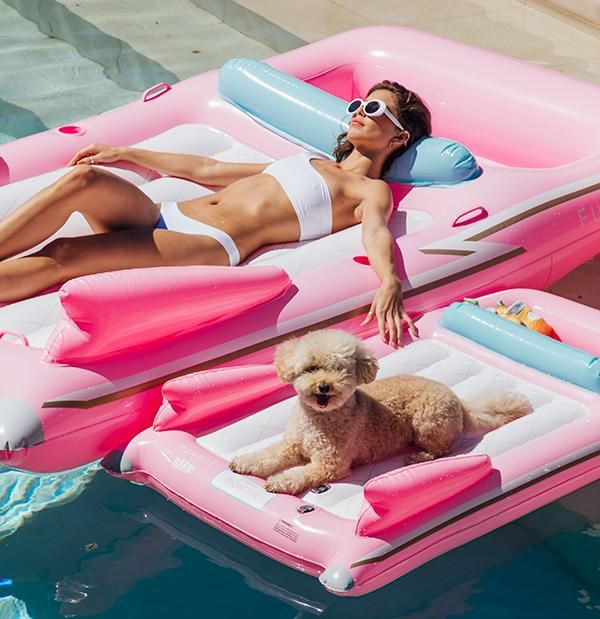 FUNBOY x Bark Dog Floats | Cute pool floats, Pool floats, Pool floats for kids