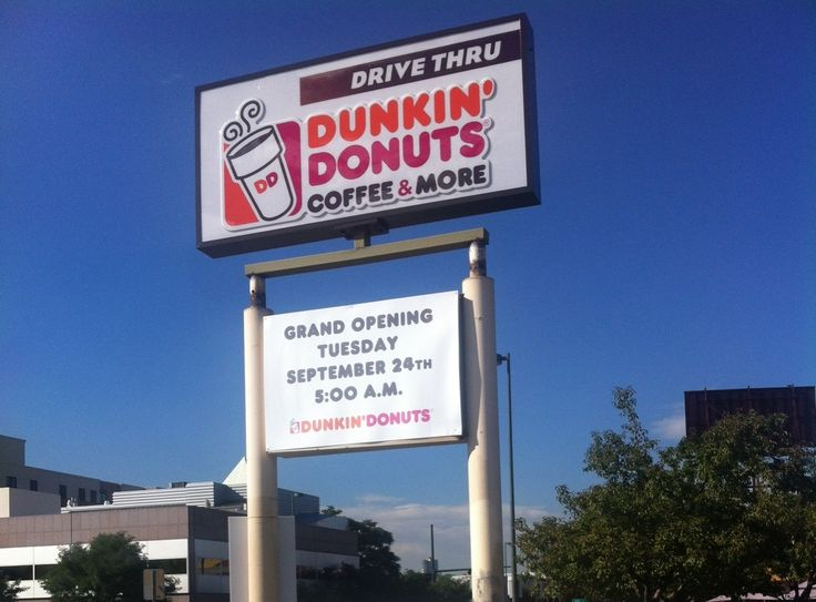 Our first Dunkin' Donuts restaurant in Denver, CO opens on Tuesday, 9/24/13 at 366 N. Broadway!