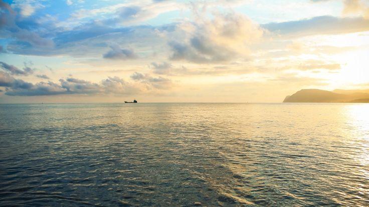 black sea novorossiysk sunset wallpaper hd download free