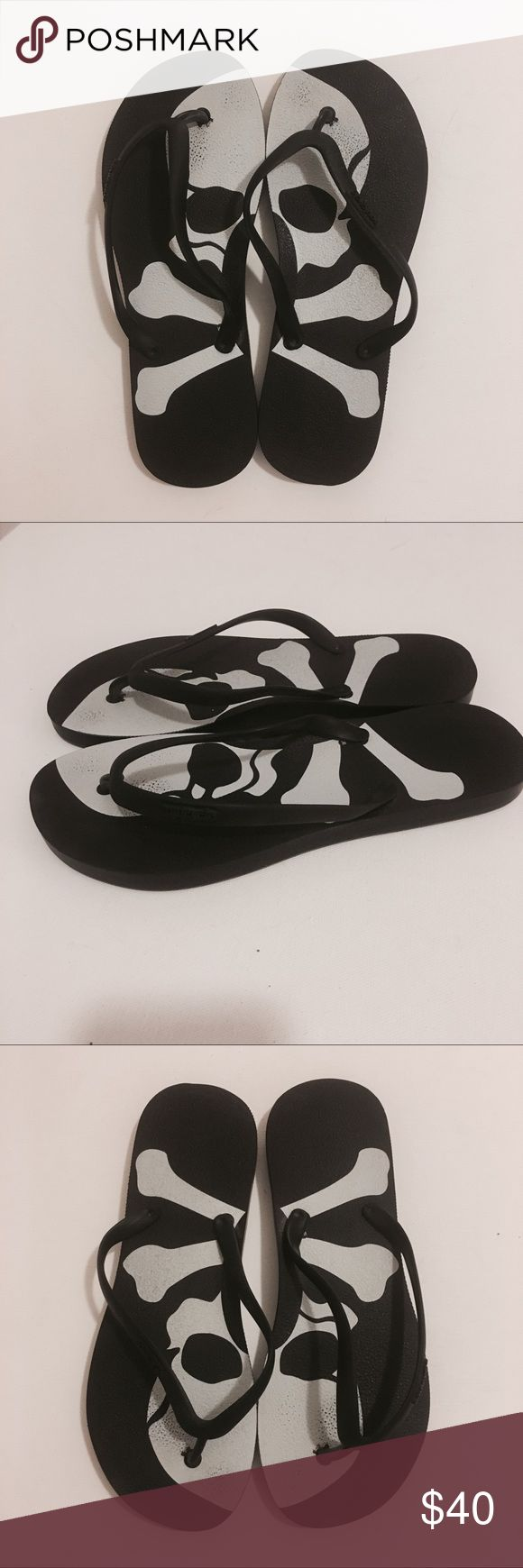 SoulCycle new skull flat sandals! SoulCycle new flats sandals! SoulCycle Shoes Sandals