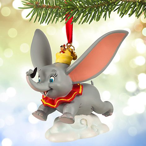 Dumbo and Timothy Sketchbook Ornament