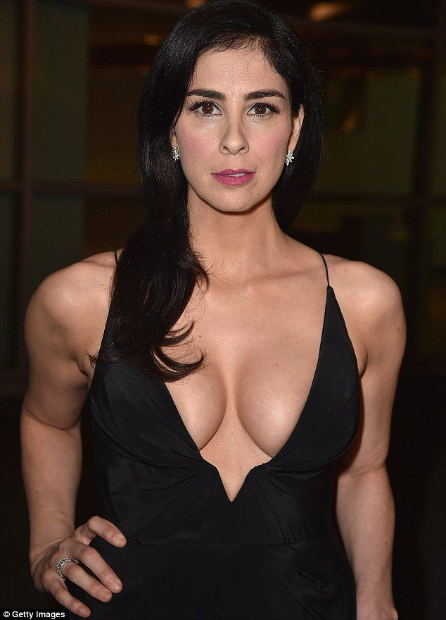 Showstopper: Sarah Silverman wowed at the LA screening of her new movie I Smile Back on Wednesday