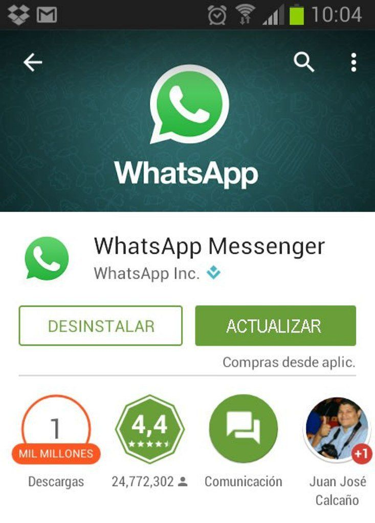 Trick to unblock yourself on whatsapp