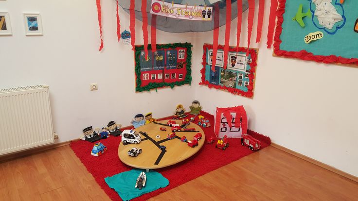 Emergency Services area for Early Years @ Acorns Nursery Bucharest