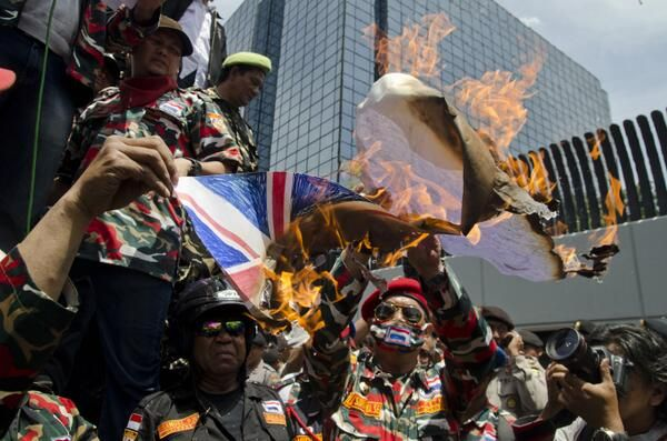 Indonesian protests over Spying.