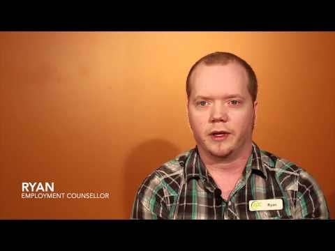 What Ryan Likes About Being An Employment Counsellor - YouTube