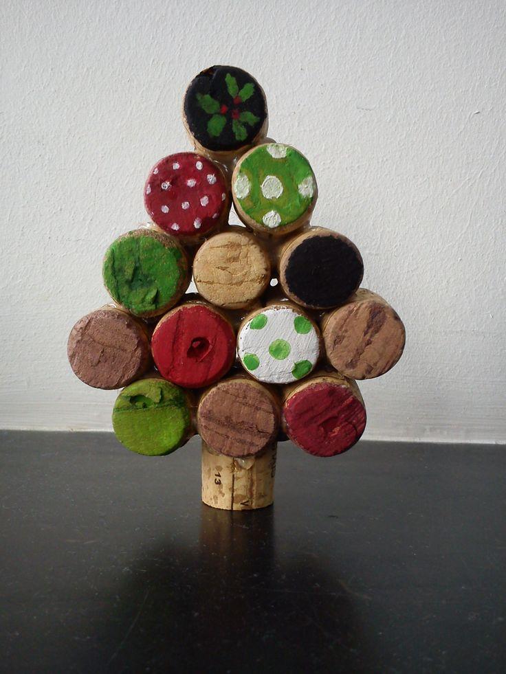 ¨Sapin de Noël en bouchons de liège