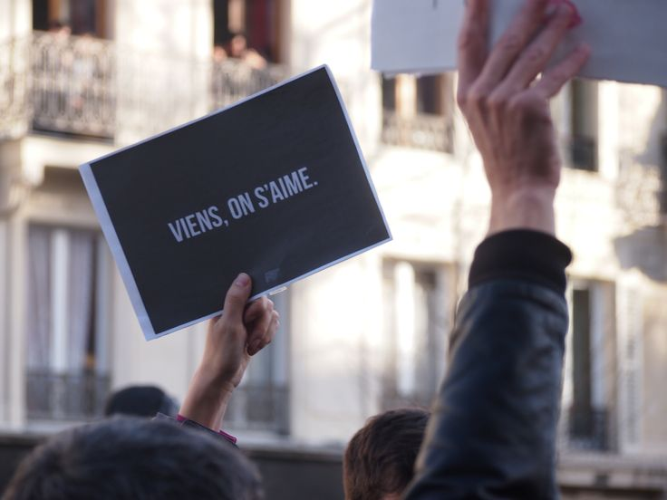#viensonsaime #jesuischarlie #amour  pic by a.vannoorenberghe