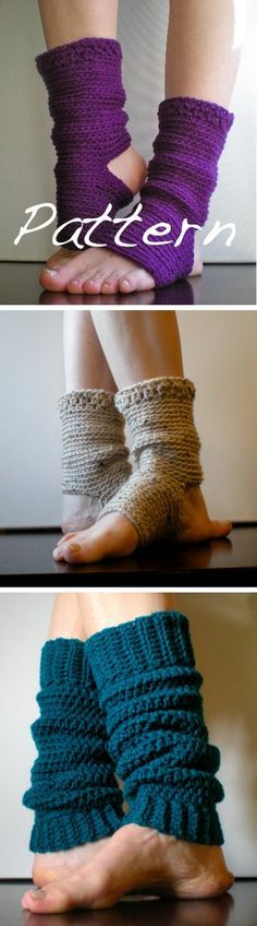 Yoga socks/leg warmers - *Inspiration*