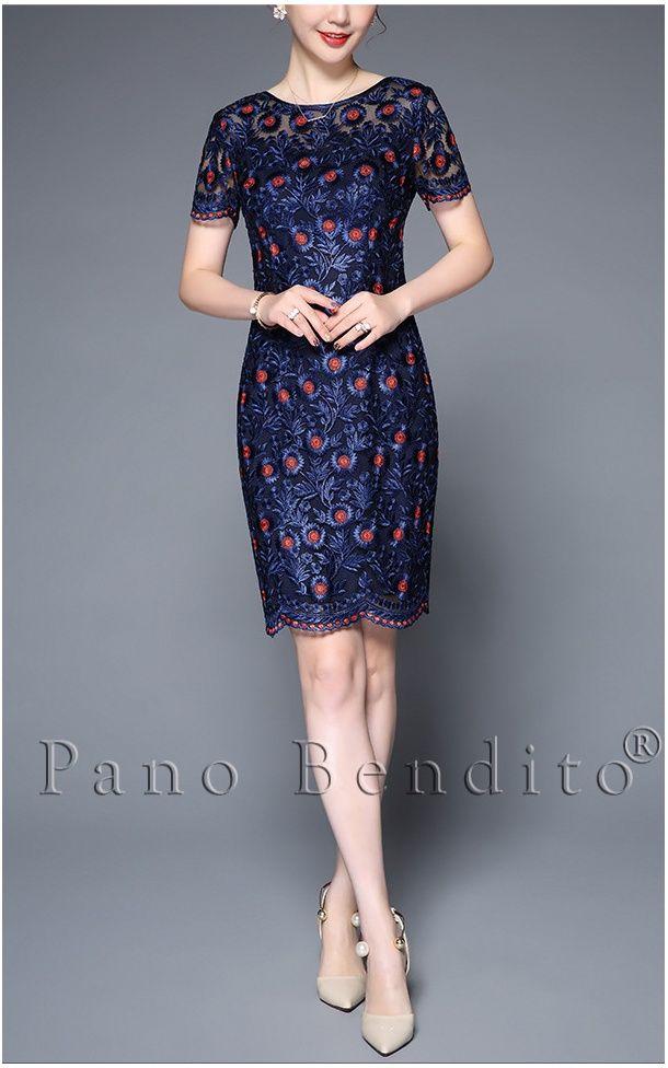 f6ed2c9a3 Vestido de Renda Alta Costura Flores de Scalabria in 2019 | فساتين |  Dresses, How to wear, Bodycon Dress