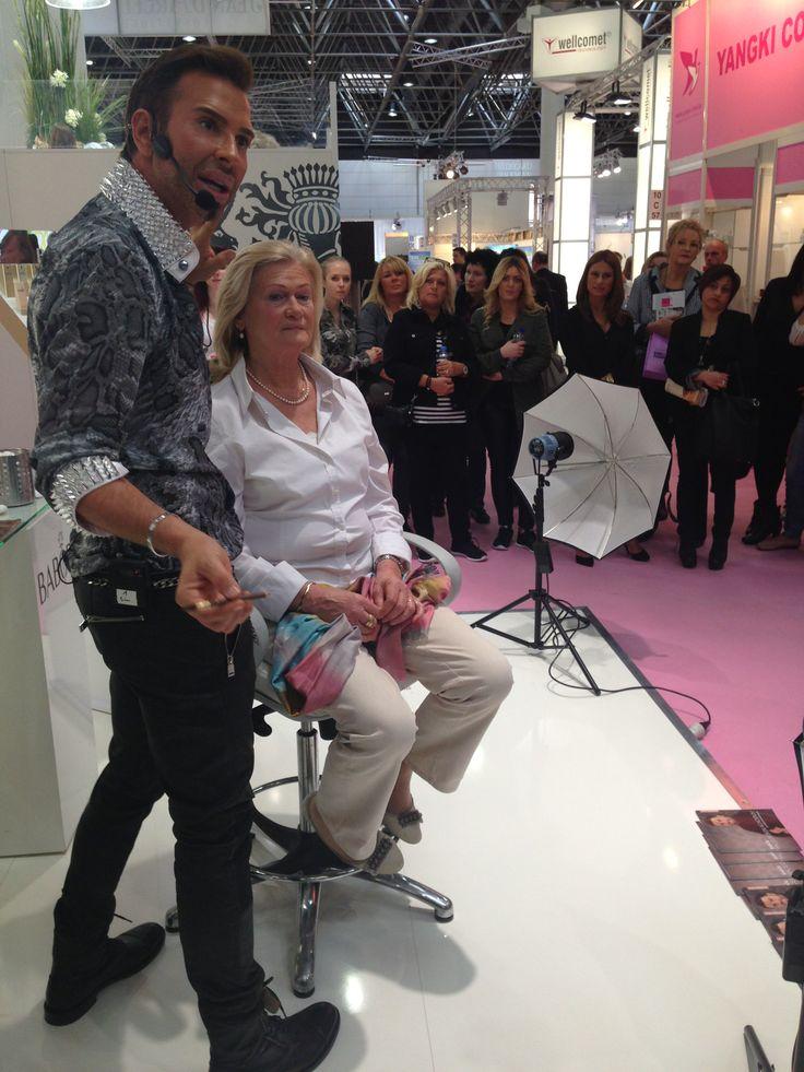 Peter Schmidinger, BABORs make up artist!  #babor #baborspa #baborfacedesign #beautydusseldorf2014 #baborsverige