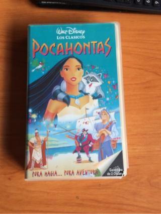 Pocahontas pelicula. Segunda mano