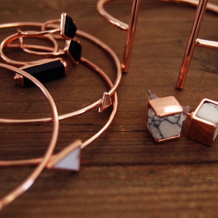Holiday Winter 2016 Jewellery Rose Gold Collection