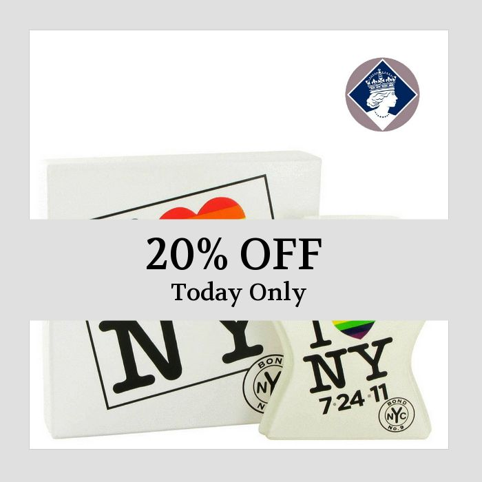 Today Only! 20% OFF this item.  Follow us on Pinterest to be the first to see our exciting Daily Deals. Today's Product: Bond No.9 I Love New York Marriage Equality Edition 100ml/3.3oz Unisex EDP Spray Buy now: https://small.bz/AAa9QjK #fashion #perfume #smellgood #picoftheday #instacool #onlineshopping #instashop #loveit #instafollow #shop #shopping #love #OTstores #smallbiz #instagood #musthave #photooftheday #sale #dailydeal #dealoftheday #todayonly #instadaily