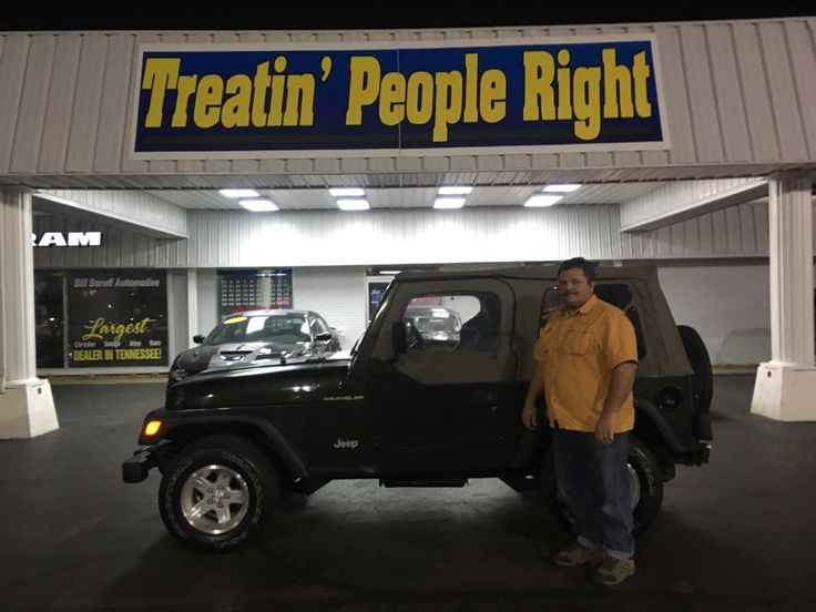 Congratulations James Ferraro on the purchase of your 1997 Jeep Wrangler. We appreciate your business & friendship.
