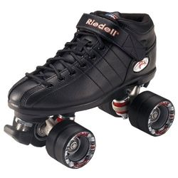 Riedell R3 Speed Skate - Black | Roller Derby Skates | Roller Derby Quad Skates UK | Cheap Skates For Sale | Cheap Skates For Sale | Skatehu...