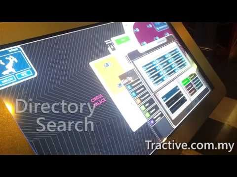 Multitouch Interactive Way-finding Directory - YouTube
