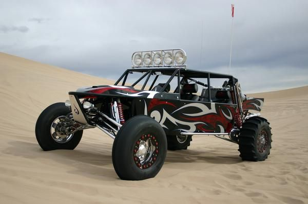 Sand Cars at Extreme Auto Customs