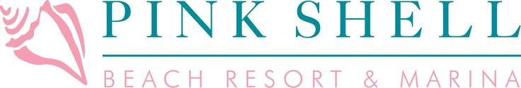 Brand Logo - Pink Shell Resort, Spa & Marina: Resort Marketing Client.   To learn more about Branding & Brand Marketing Visit: Quenzel.com/branding-agency-florida.php