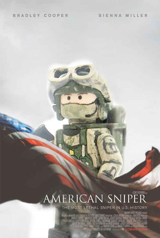 8 Oscar Nominee Posters, Made Better By Lego