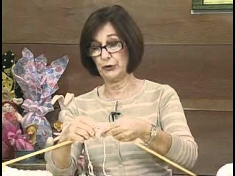 ▶ ARTE BRASIL -- CLAUDIA MARIA -- PELERINE TIFFANY EM TRICÔ (01/04/2011 - Parte 1 de 2) - YouTube