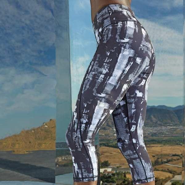 TriDri Sports Activewear Womens Performance Camo Leggings Full-Length