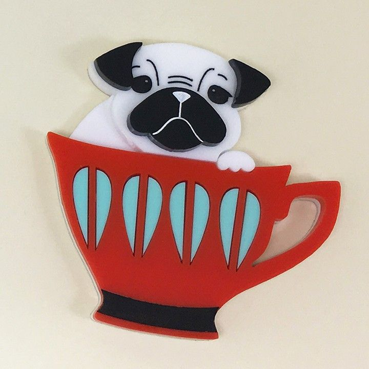 Peppy Chapette Pug Cup Percy