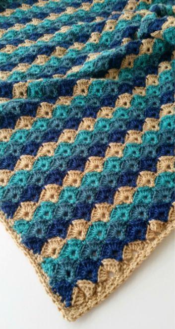 Simply Seashell Crochet Blanket Pattern, ☆ ★   Thanks so for share https://uk.pinterest.com/peacefuldoves/